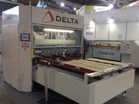 Delta raklapgyártó gép