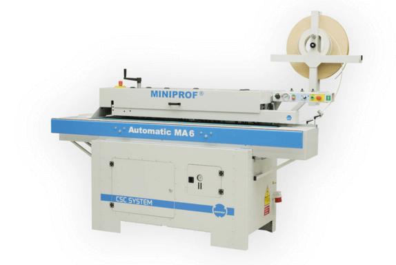 Miniprof MA6 élzárógép