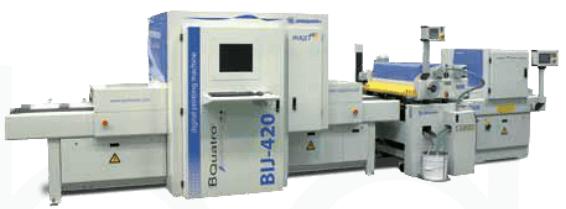 Barberán BIJ-420 digitális nyomtató panelra