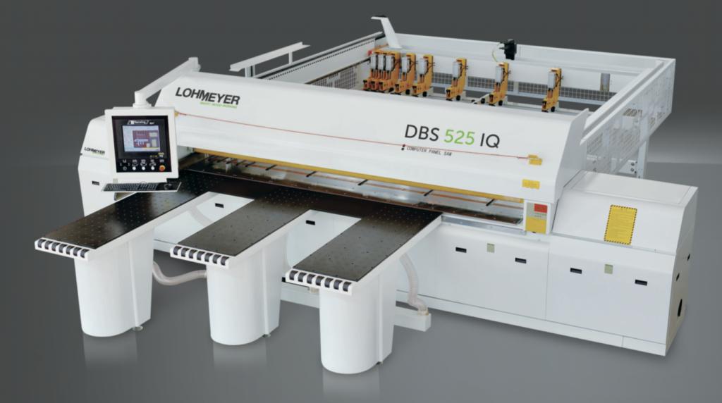 Lohmeyer DBS 525 táblafelosztógép