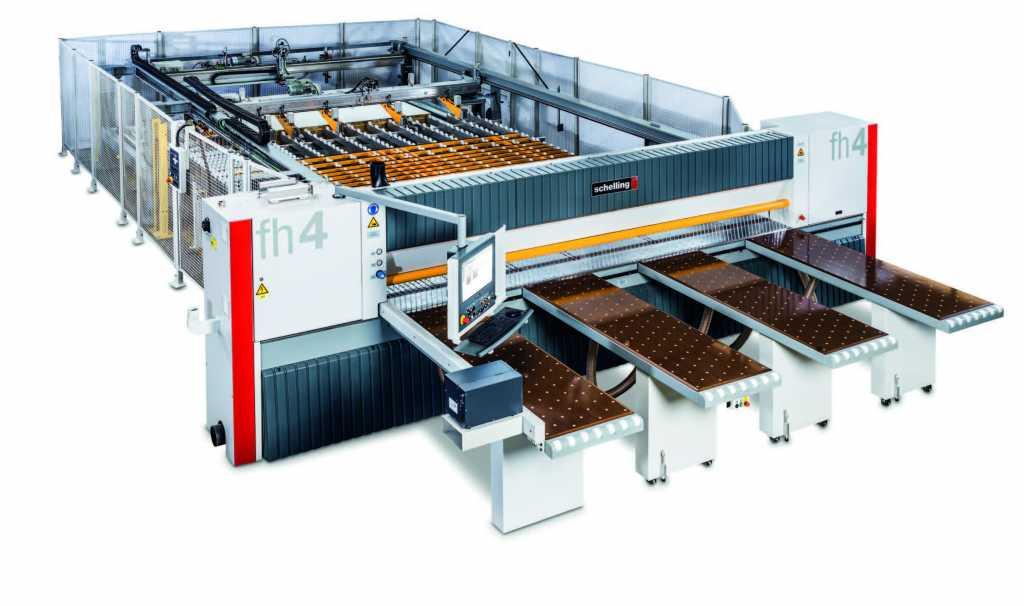 Schelling FH4 táblafelosztó gép